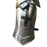 Medieval Gorget Spaulders Arm & Shoulder Set Reenactment Knight Gothic Pauldrons