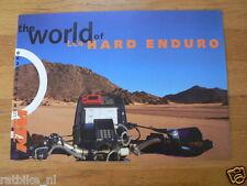 HAP-010 KTM BROCHURE  WORLD OF LC4 HARD ENDURO, 620 SX MOTOCROSS, 400SC SUPERCOM