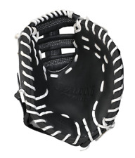 "Spalding First Baseman Pro Series Training Mitt Worn On Left Hand 10"" LEATHER"