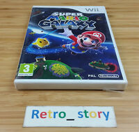 Nintendo Wii Super Mario Galaxy NEUF / NEW PAL
