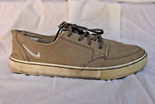 2011 Nike Braata Gray Canvas Men's Shoe Size 11 US Used Markings No Insoles