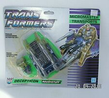 G1 transformers-micromasters transport rough stuff decepticons, veuillez lire