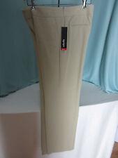 Rafaella Beige Khaki Slacks Pants Size 10 Classic Fit  Polyester Blend NWT