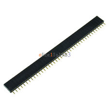 100PCS 40Pin 2.54mm  Single  Row Straight  Female Pin Header Strip PBC Ardunio