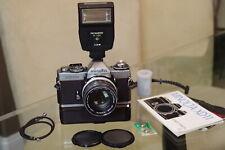 EXC+ MINOLTA XD11 w/ MC Rokkor-PF 55mm f/1.7 lens, winder +  / NEW LIGHT SEALS