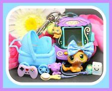 ❤️Authentic Littlest Pet Shop LPS #86 Baby Kitten Cat DIGITAL GAME Tamagotchi❤️