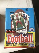 1989 Topps Football Wax Box!  STRAIGHT FROM CASE I PURCHASED IN 1989