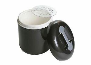 Eiswürfelbehälter 4 Liter Profiausführung Eisbehälter mit Abtropfgitter Eiseimer