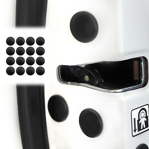 16x Car Door Lock Screw Protector Cover Caps Universal Interior Accessories