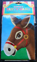 Pin the tail on the donkey Party Game retro party childs game FREE P&P