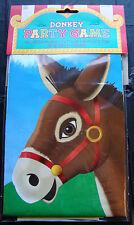Pin en la cola al burro Fiesta Juego Retro Fiesta Childs Juego Gratis P&P