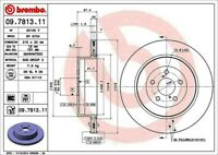 Disc Brake Rotor-Premium UV Coated OE Equivalent Rotor Rear fits 2004 Impreza