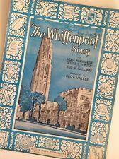 The Whiffenpoof Song Yale BAA! BAA! BAA! revised1936 Rudy Vallée Eb maj.  C min.