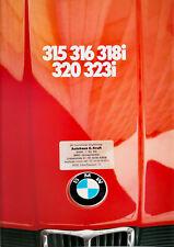 BMW 315 bis 323i (E21) 1982 - Prospekt Brochure - 48 Seiten