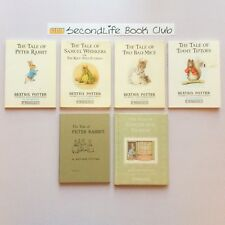 x6 BEATRIX POTTER CLASSICS ~ The Tale of Peter Rabbit, Samuel Whiskers, Two Bad.