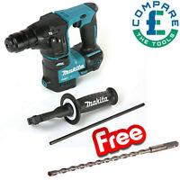 Makita DHR171 18V Brushless SDS + Hammer With Free B-47450 SDS + Drill Bit