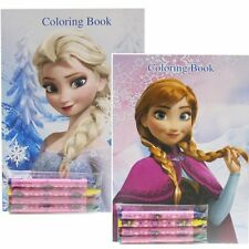Disney Frozen Coloring Books Elsa +  Anna  (2 Books)-Brand New! v3