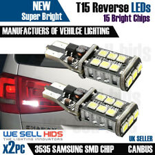 Reverse Light Bulb Replacement 15 SMD LED W16W T15 955 921 For Audi Q7 06-09