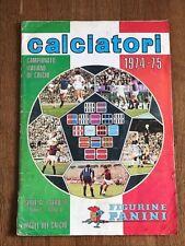 Album sticker PANINI CALCIATORI 1974 75 COMPLETE football soccer figurine sicker