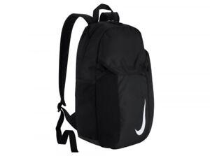 Nike Akademie große schwarze Rucksack Gym Schultasche offiziellen Sportbekleidun