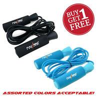 MaxxMMA Advanced Adjustable Jump Rope BUY 1 GET 1 FREE - Colors: Black or Blue