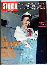 STORIA ILLUSTRATA#DICEMBRE 1972 N.181#LA GIORNATA DI UNA REGINA#MASADA#Mondadori