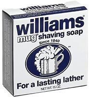 3 Pack Williams Mug Shaving Soap 1.75 Oz Each