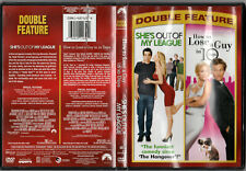 2 Film DVD She's Out of My League & How to Lose a Guy in 10 Days Romance Comedy