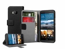Cartera NEGRO 100% MARCA ORIGINAL Membrane Funda funda Para HTC One M9