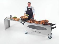 Hogmaster Hog Roast Machine With Glass Window BBQ and Table Attachment.