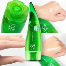 NEW 1 PCS 55ML HOLIKA 99% ALOE SOOTHING GEL ALOE VERA GEL SKIN CARE REMOVE ACNE