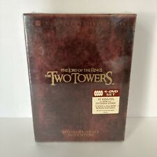 New ListingSealed Lord Of The Rings The Two Towers Dvd 4-Disc Set Special Extended Edition