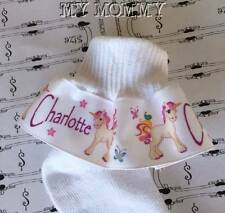 PERSONALIZED Unicorn Ruffle Socks Birthday Party Costume Infants Toddlers Girls