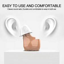 1PCS CIC Digital Hearing Aids Rechargeable Invisible in Ear Sound Amplifier