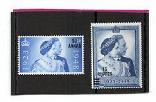 British Postal Agencies in Eastern Arabia Gv1 1948 Rsw sg 25-26 Vlh.Mint