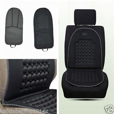 Black Car Auto Cushion Therapy Massage Padded Bubble Foam Chair Seat Pad Cover
