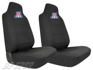 2X UA UNIVERSITY OF ARIZONA WILDCATS NCAA NEOPRENE SEAT COVER FOR TOYOTA