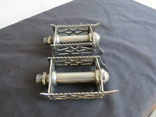 FRENCH PEDALS ROAD TOURING VINTAGE PEUGEOT QUILL HETCHENS JACKSON 9/16 ENGLISH