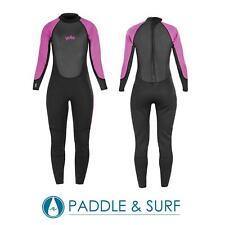 Yello Ladies Womens Full Length Steamer 2mm Summer Flatlock Wetsuit Surf Swim