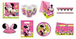 Disney MINNIE MOUSE HAPPY HELPERS Birthday Party Tableware Supplies Decorations