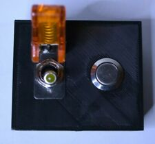 Custom Mini 2 Switch Panel Addon for Apex Breakout Box w/ Lighted Toggle Switch