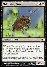 MTG 4x CHITTERING RATS - Darksteel *Discard*