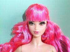NUDE TARINA TARANTINO BARBIE PINK HAIR STEFFIE LASHES MODEL MUSE FREE SHIPPING