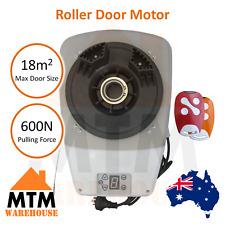 Roller Garage Door Motor Opener Automatic with 2 x Remotes 600N