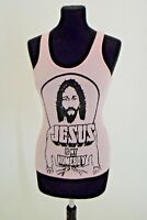 Vintage iconic Teenage Millionaire vest top- Jesus is my homeboy good condition