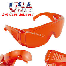 Goggle Glasses Lab Safety Dental UV Protective Eye impact Curing Light Debris US