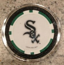 Chicago White Sox Texas Holdem Poker Chip Card Guard Protector NEW - GREEN