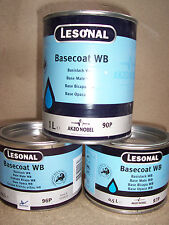 Lesonal WB 23  Water Based tinter 3.75lt tin  Akzo Car refinish basecoat paint