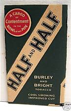 Half and Half Burley & Bright Cigarette Tobacco Papers