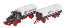 Wiking HO 1:87 Lorry Krupp TitanVehicle w/ Trailer NEW